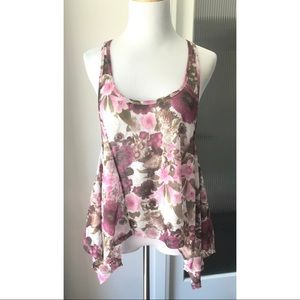 Urban Behaviour boho floral tank